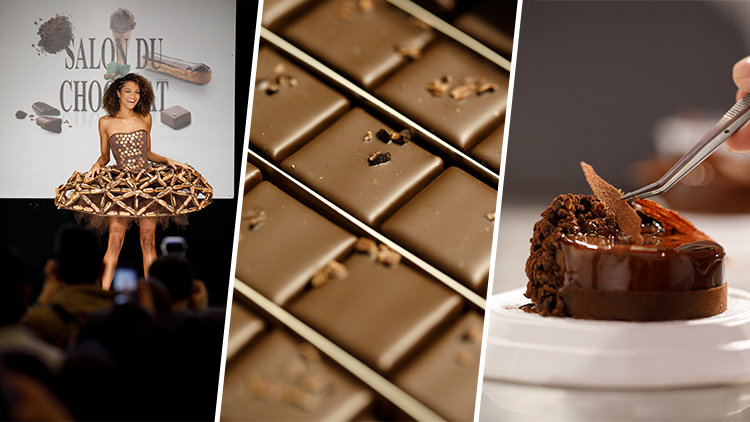 Salon du Chocolat and Deliveroo: a match made in chocolate heaven