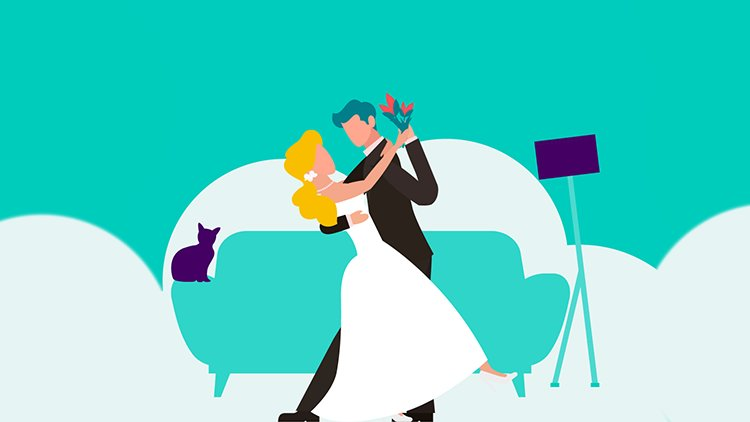 Celebrate your virtual wedding with Deliveroo