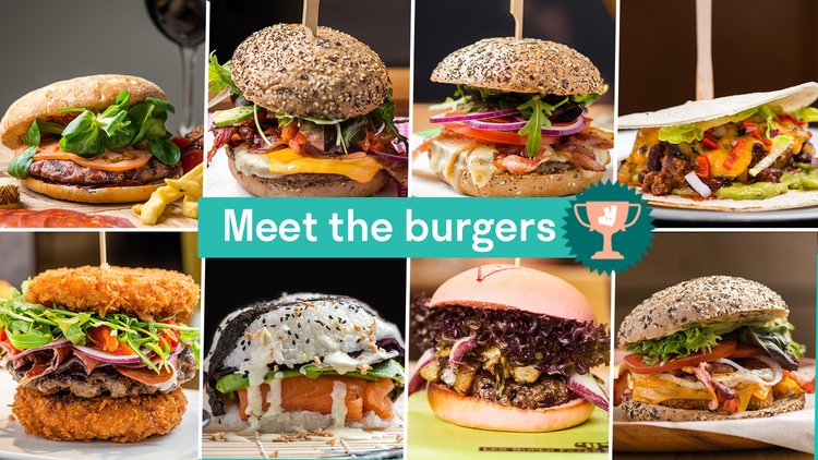 The Deliveroo Burger Contest 2018