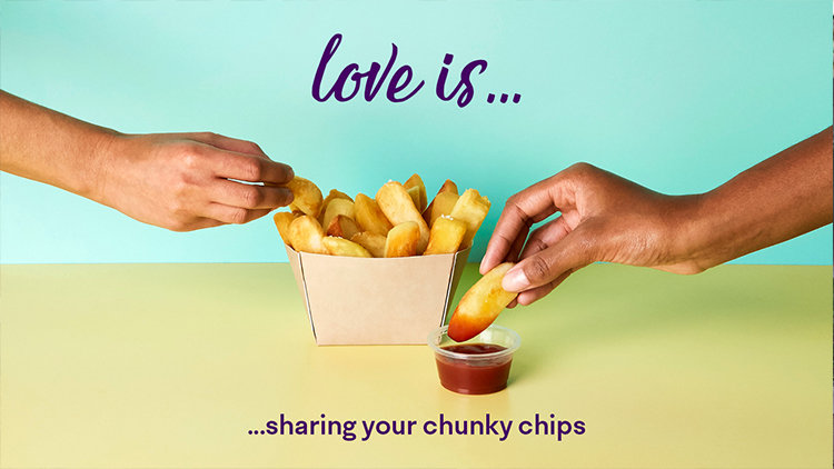 Share your love for food this Valentine's