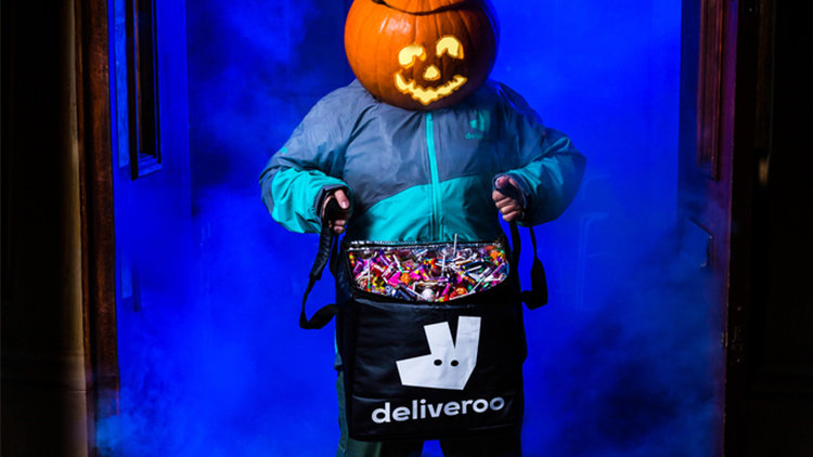 Deliverboo! Get your emergency trick or treat sweets delivered